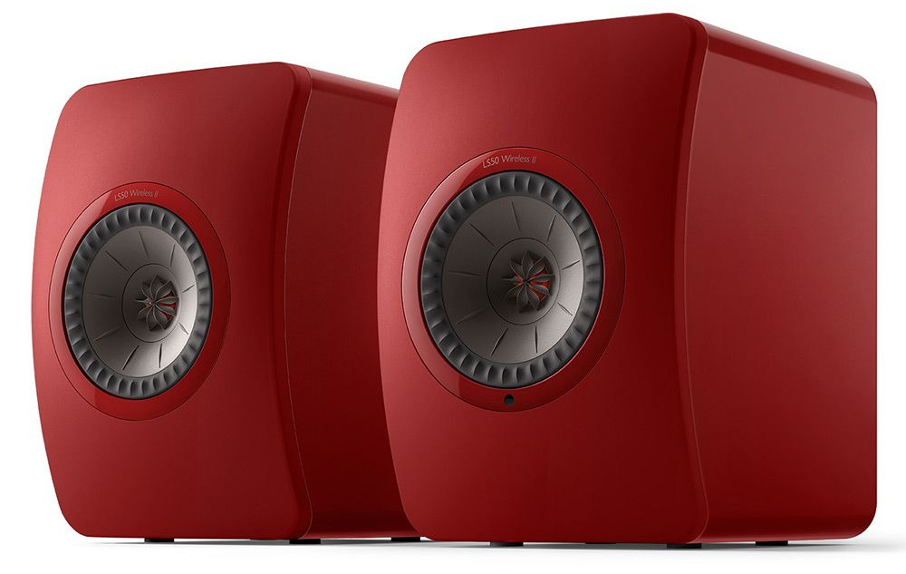 Акустическая система KEF LS50 Wireless II Crimson Red Special Edition