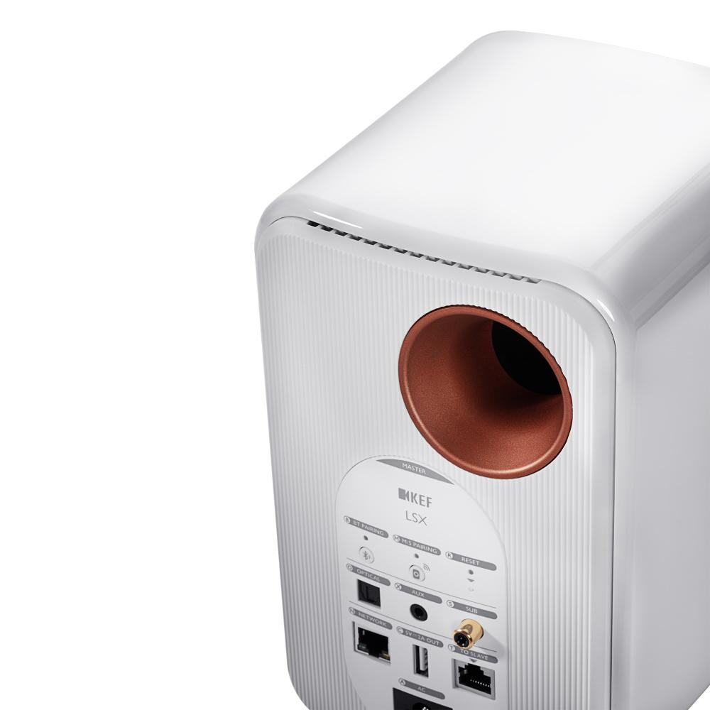 Акустическая система KEF LSX Gloss White