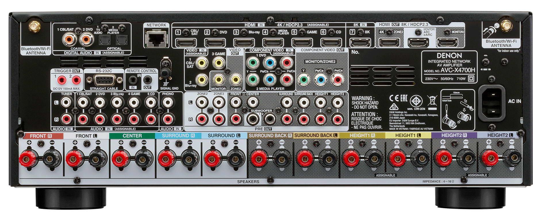 AV ресивер Denon AVC-X4700H