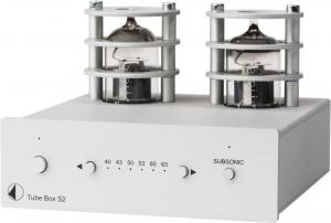 Ламповый MMMC-фонокорректор Pro-Ject Tube Box S2