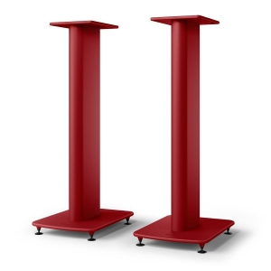 Стойка под акустику KEF S2 Floor Stand Crimson Red Special Edition