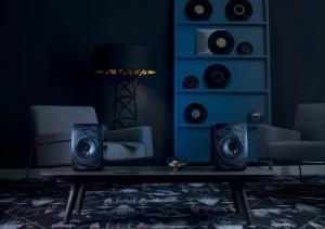 Акустическая система KEF LS50 Wireless Nocturne Black