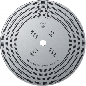 Стробоскопический диск Audio-Technica AT6180a