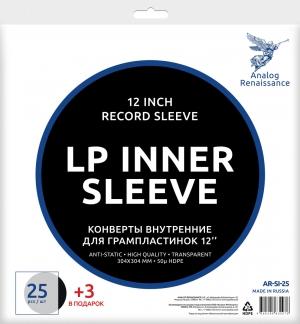 Внутренние конверты для аналоговых пластинок Analog Renaissance LP Inner Sleeve